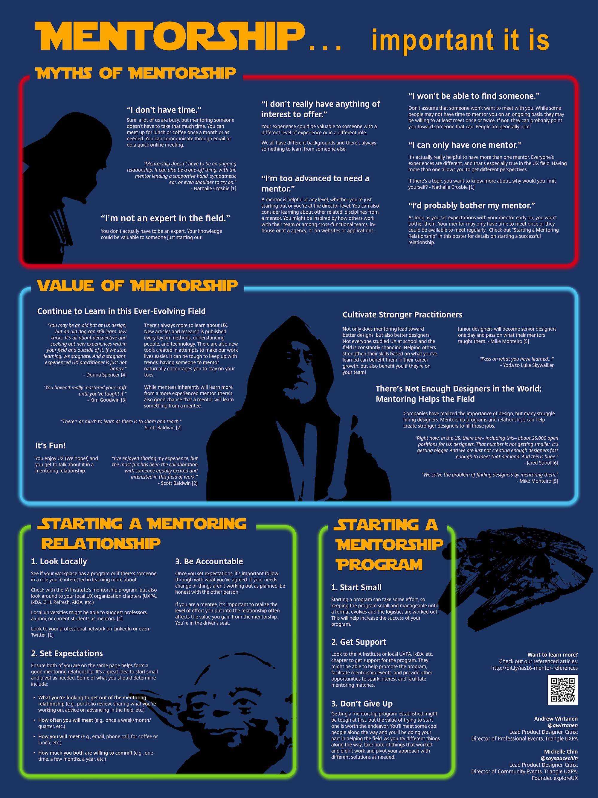 Mentorship poster